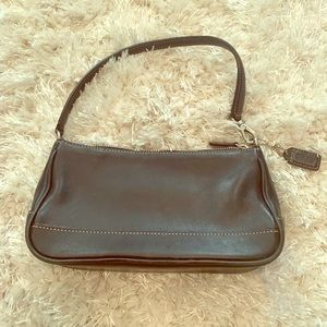 Small Coach mini bag.